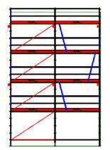 PACK 10: Layher Allround - L: 6,14m - H: 9,2m - 73cm - 56m² - NOUVEAU