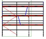 PACK 2B: Layher Blitz - Longueur: 9,21m - Hauteur: 7,2m - Largeur: 73cm - 66m² - OCCASION