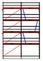 PACK 10B: Layher Allround - Longueur: 6,14m - Hauteur: 9,2m - Largeur: 73cm - 56m² - OCCASION