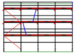 PACK 3B: Layher Blitz - Longueur: 10,28m - Hauteur: 7,2m - Largeur: 73cm - 74m² - OCCASION