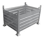 Habillage galvanisé, stapelbak gegalvaniseerd, Stapelkiste galvanisiert, piling box galvanised - Steel - Blitz & Allround