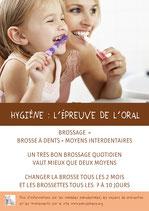 Flyers Hygiène orale