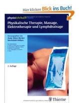 Physikalische Therapie, Massage, Elektrotherapie und Lymphrainage