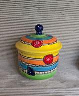 """Zwiebeltopf """"fleur II"""" Keramik für 500g im Design crazy"""