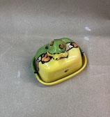 kleine Butterdose für 125g Butter  Keramik Handarbeit mit  Schildkröte