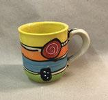 Tasse Jumbotasse  XXL Tasse  Keramik ca. 600 ml Inhalt im Design crazy