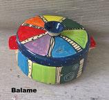 Brottopf  rund mit zwei Griffen  im Design Balame