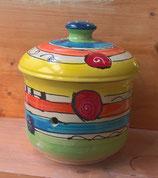 """Zwiebeltopf """"fleur III"""" Keramik für 1,5 kg im Design crazy"""
