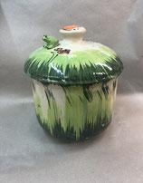 """Zwiebeltopf """"fleur III"""" Keramik für 1,5 kg im Design Wiese"""