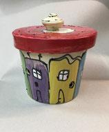 "Knoblauchtopf  oder kleiner Zwiebeltopf  ""ROM I"" Keramik im Design colorido"