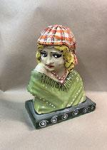 """Figur Skulptur Büste Kunst """"Marina"""" Keramik Unikat"""