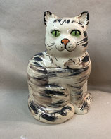 riesige Keksdose als Katze