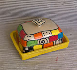 """Butterdose """"earle""""  für 250 g Butter Keramik im Design Kocko"""