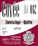 Zwetschge-Quitte