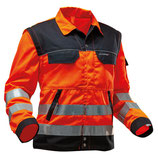 Funktions Arbeitsjacke EN 20471 / Stretch Zone Warnjacke