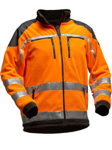 Jobby Colour Fleecejacke EN 20471