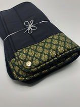 ELEGANCE - 2er darkgreen-gold-blue  (Active Shape dick / Sportfleece)