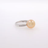 Bague Perle Gold et diamants