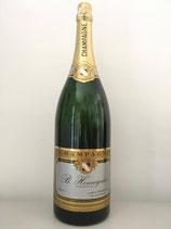 Jéroboamflasche mit 3 l Champagnern