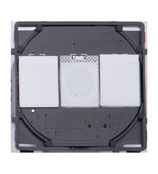 Modulaire Touch  AAN/UIT schakelaar 2 stroompunten
