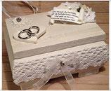 Ring-Kästchen WHITE WEDDING