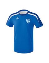 Erima Liga 2.0 T-Shirt new royal/true blue/weiss mit Logo FC Luterbach
