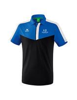 Erima Squad Poloshirt new royal/schwarz/weiss mit Logo TC Hochdorf