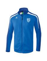 Erima Liga 2.0 Trainingsjacke new royal/true blue/weiss mit Logo FC Luterbach
