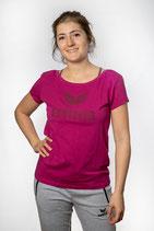 Erima Essential T-Shirt fuchsia/purple potion