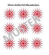 54mm Decals Antike Macedonen #12