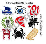 54mm Decals Antike Griechen #07
