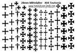28mm Decals #04 Teutonische Ritter Infanterie
