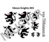 54mm Decals Mittelalter #03