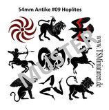 54mm Decals Antike Griechen #09