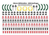 28mm Decals #08 Antike Karthago Infanterie