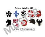 54mm Decals Mittelalter #10 Infanterie