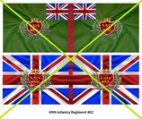 1:32 Flag Napoleon England Infanterie (69.th Inf. Regiment)