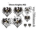 54mm Decals Mittelalter #02