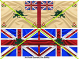 1:32 Flag Napoleon #02 England Infanterie (3.rd Regiment The Buffs)