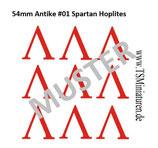 54mm Decals Antike Griechen #01