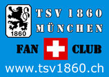 TSV 1860 Fanclub Schweiz Aufkleber (klein)