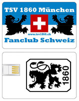 TSV 1860 Fanclub Schweiz USB Speicherkarte