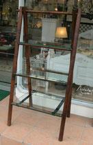 ガラスシェルフ 飾り棚 シェルフ ガラス棚 竹家具 バンブー家具 アルマーニ アルマーニカーサ Gerard Collection ジェラール