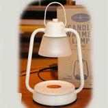 キャンドルウォーマー 香る照明 アロマキャンドル ホワイト フレグランス ミニ クラシック ウォーマー