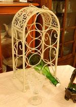 ワインホルダー オシャレ ワインラック 7本収納 キャリータイプ ホワイト 白 1351023