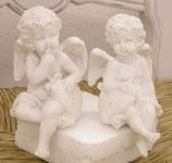 ハート エンジェル メッセージ 天使 雑貨  オブジェ 姫系 プリンセス アイテム 2Pセット 368037