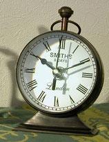 置き時計 おしゃれ 球型 レトロ アンティーク 真鍮 クロック ブラス テーブルクロック