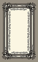 玄関マット フランス リボン スタイルフランス satine noir セルジュルサージュ 50-70 CM ラグマット SERGE LESAGE フランスラグマット 段通玄関マット コットン100 綿100%