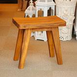 スツール チーク チーク無垢材 チーク 椅子 チェア ベンチ一 人掛け アンティーク調 7231015