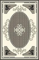 玄関マット フランス スタイルフランス alixe noir セルジュルサージュ 50-70 CM ラグマット SERGE LESAGE フランスラグマット 段通玄関マット コットン100 綿100%